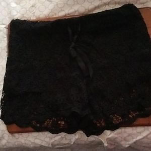 No Boundaries Shorts - No Boundaries black lace shorts